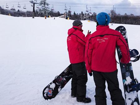 スノーボードバッジテスト